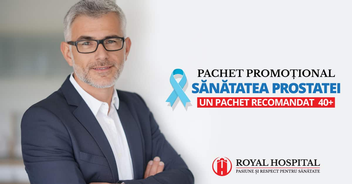 Pachet sanatatea prostatei
